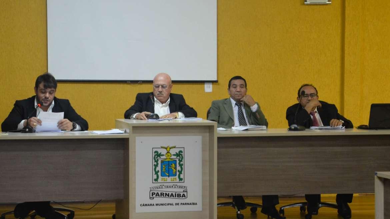 Primeira sessão ordinária da Câmara Municipal de Parnaíba referente ao mês de junho
