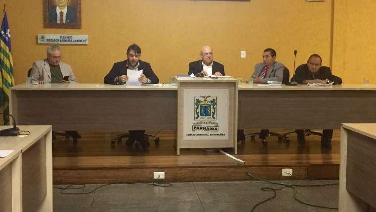 Vereadores aprovam requerimentos em sessão na Câmara Municipal de Parnaíba
