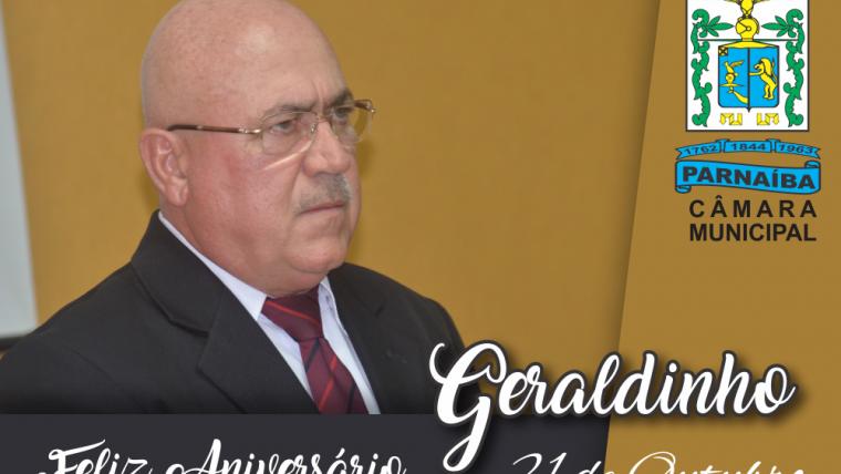 Parabéns! José Geraldo Alencar Filho