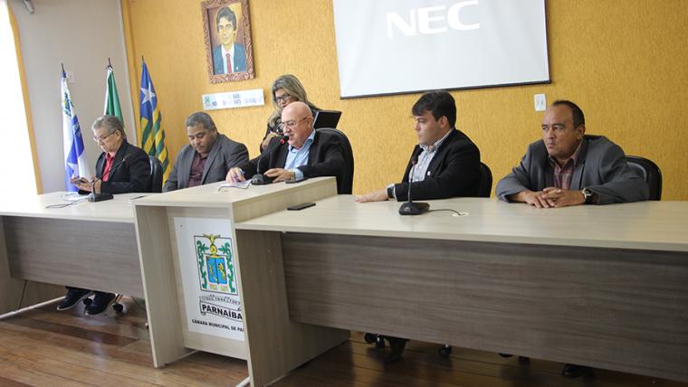 Câmara Municipal de Parnaíba elege Mesa Diretora para biênio 2019/2020