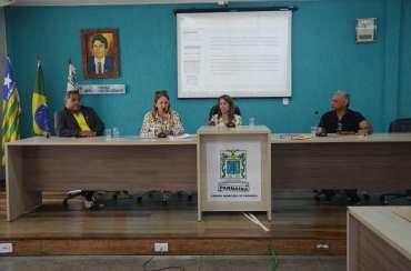 Audiência pública da secretaria da saúde para apresentação do relatório quadrimestral 2019