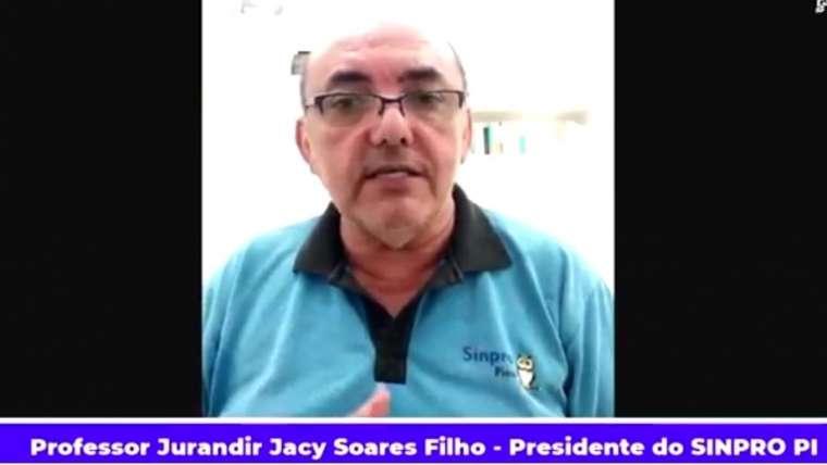 Presidente do Sinpro/PI pede suspensão imediata das aulas presenciais nas escolas da rede privada
