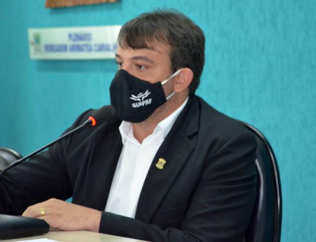 Vereador André Neves propõe audiência para discutir falta de segurança em Parnaíba